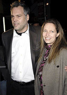 Vincent D'Onofrio and wife Carin van der Donk