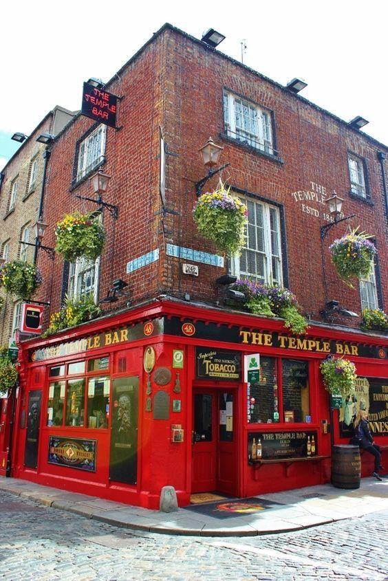 Dublin, Ireland self-guided walking tour: Temple Bar