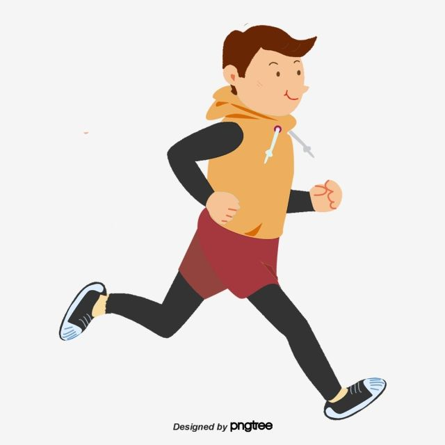 Character Element Cartoon Scenes Morning Exercises Early Morning Boy Run Physical Exercise Running Cartoon Cartoons Png Cartoon Boy
