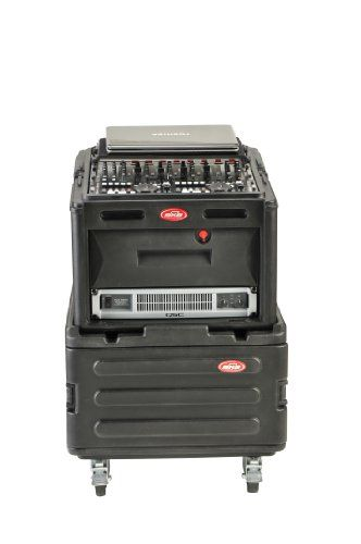 SKB R1906 Roto Rack 6U Expander with 4-Casters for R104/106 and R1006/R1010/R1208  http://www.instrumentssale.com/skb-r1906-roto-rack-6u-expander-with-4-casters-for-r104106-and-r1006r1010r1208/