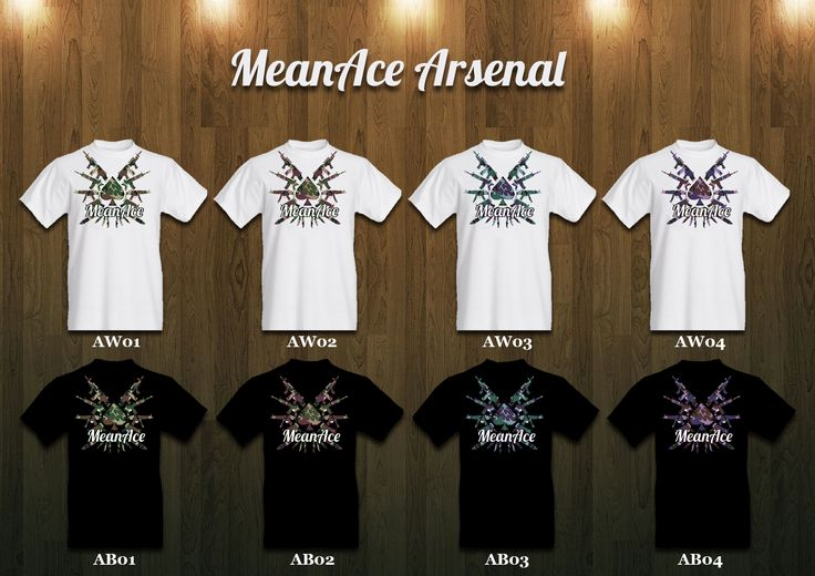 MeanAce designer T-shirts are now available on Pozible! http://www.pozible.com/project/186615 #tshirt #design