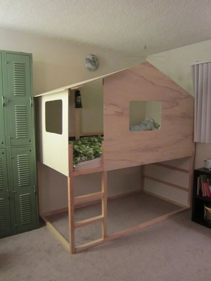 IKEA IKEA Hack: Kura Bed into Modern Cabin   Sumally