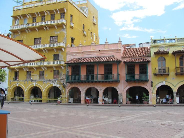 Plaza de los Coches -Cartagena-Colombia