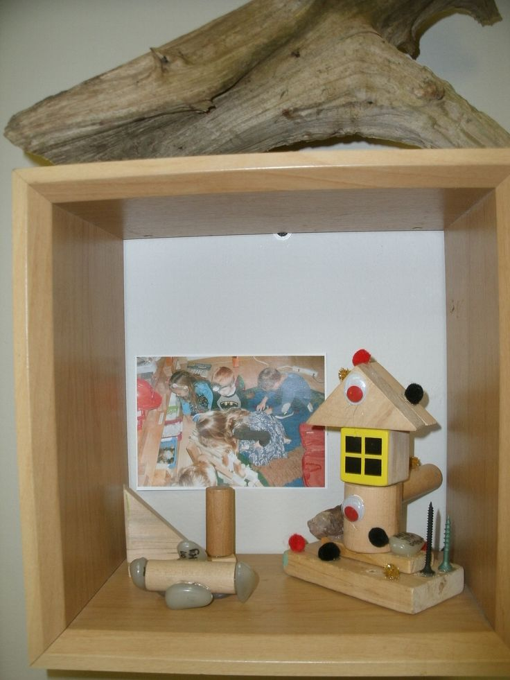 Child's creation on display