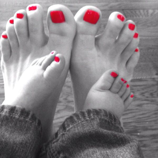 Mommy daughter pedicures~can't wait for a Mommy & daughter day with my…