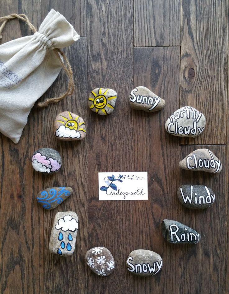 Weather - READING ROCKS! by madebyindigowild on Etsy