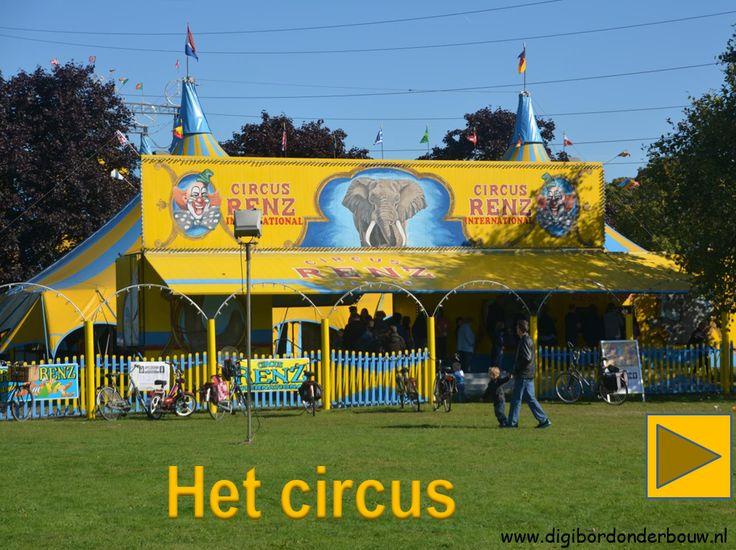 Powerpoint over het circus. http://digibordonderbouw.nl