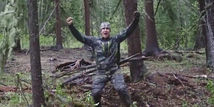 Josh Bowmar Films Himself Spearing A Bear, Then Giggling Over The Kill