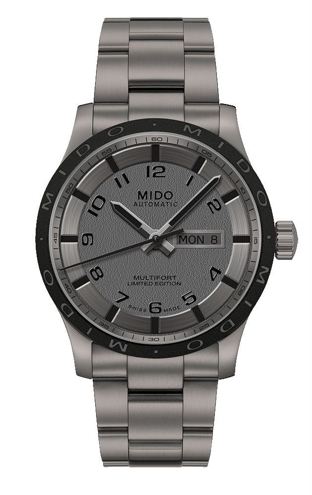 6959ee5660b Mido Multifort Automatic Day Date Titanium Limited Edition Watch   M018.430.44.062.00 (Men Watch)