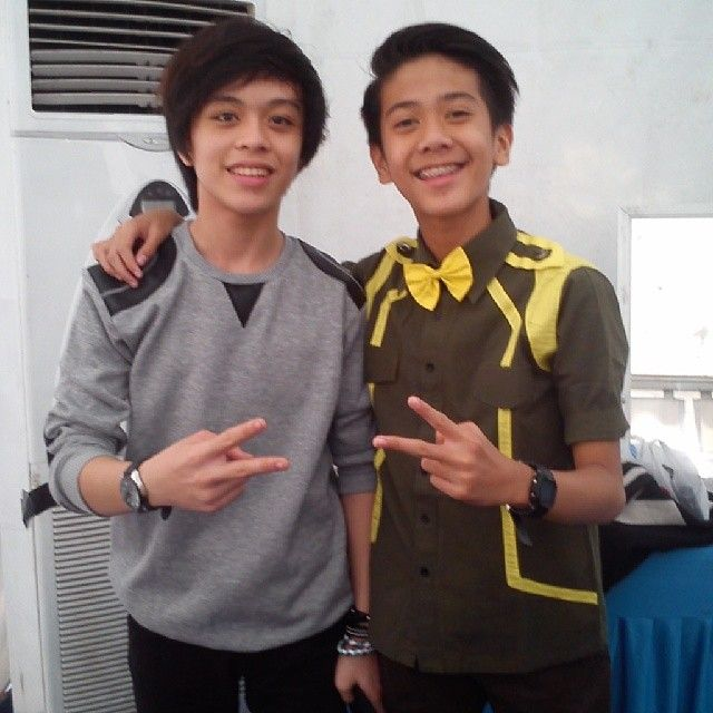 with iqbaal