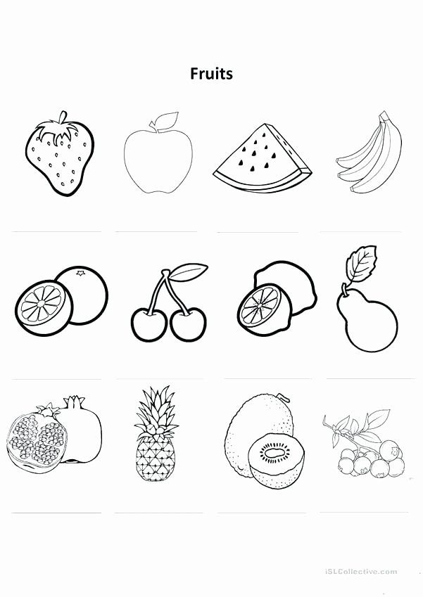 Coloring Vegetables Worksheets Pdf Inspirational Color The Fruit Worksheet Twisty Noodle Fruits Fruit Coloring Pages Apple Coloring Pages Leaves Coloring Book