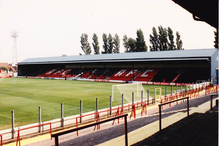 Old Dean Court Main Stand seen from the South End