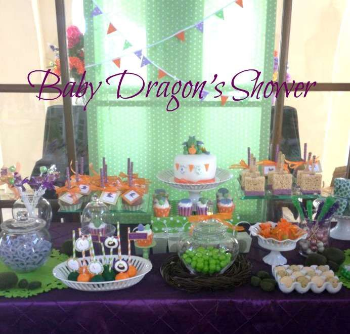 Baby Dragon Baby Shower Party Ideas   Photo 5 of 10