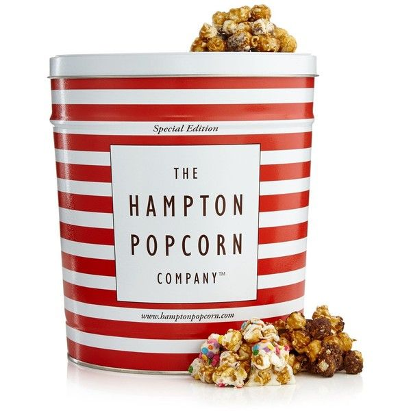 Hampton Popcorn Holiday Decorated Large Kit-Kat, Cookies and Cream, &... ($68) ❤ liked on Polyvore featuring home and kitchen & dining