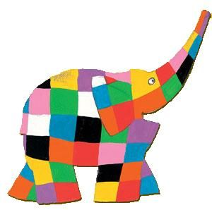 We're all different. Elmer the Elephant Craft