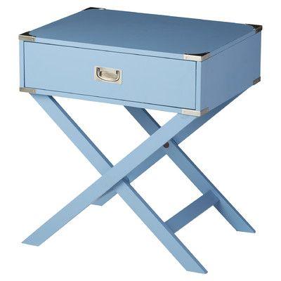 Best Marotta End Table With Storage Blue Nightstands Bedroom 400 x 300