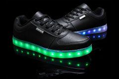 Buty świecące LED czarne Casual