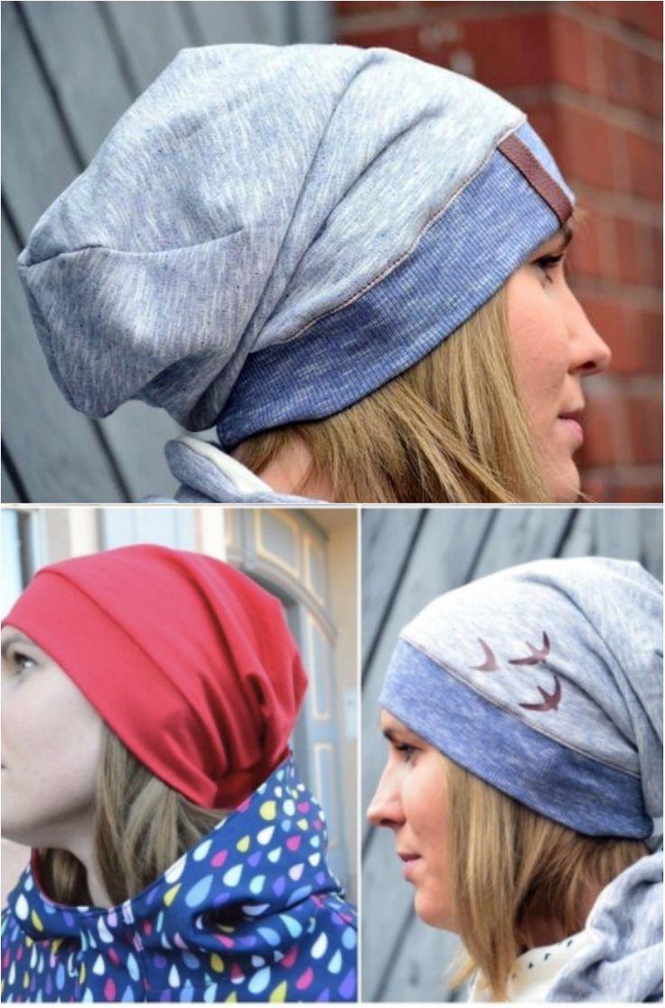 Mütze zum Nähen für Anfänger - Schnittmuster und Nähanleitung via Makerist.de