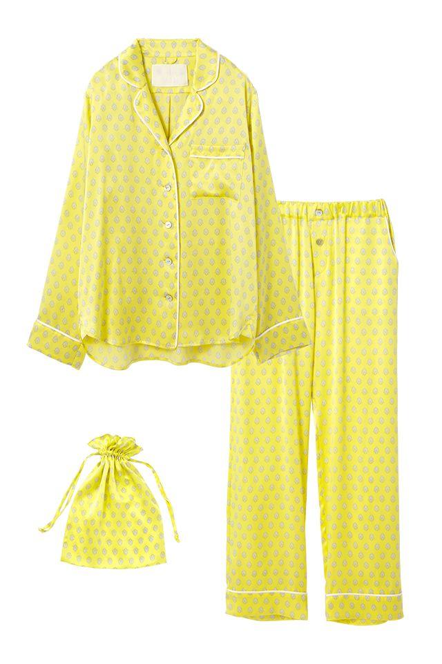 Silk Pajama Set - Lingerie, Sleepwear & Loungewear - amzn.to/2ieOApL Lingerie, Sleepwear & Loungewear - http://amzn.to/2ij6tqw