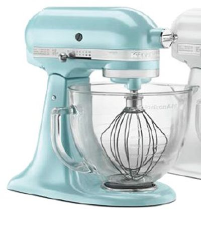Kitchenaid ksm155gbaz 10 speed stand mixer w 5 qt glass for Kitchenaid f series accessories