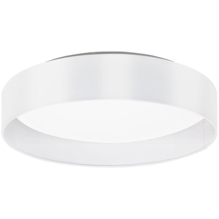Här är en snygg plafond som är diskret samtidigt som den är otroligt stilren. Maserlo plafond är tillverkad i stål och kommer i tre olika utföranden (svart/guld, silver eller vit). Kupan är i plast och lampan är utrustad med LED-belysning som sprider ett varmvitt ljus. Integrerad LED-belysning.