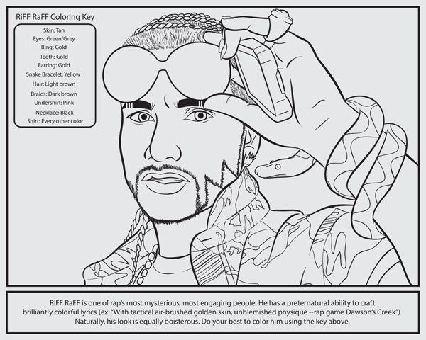 Rap Coloring Book