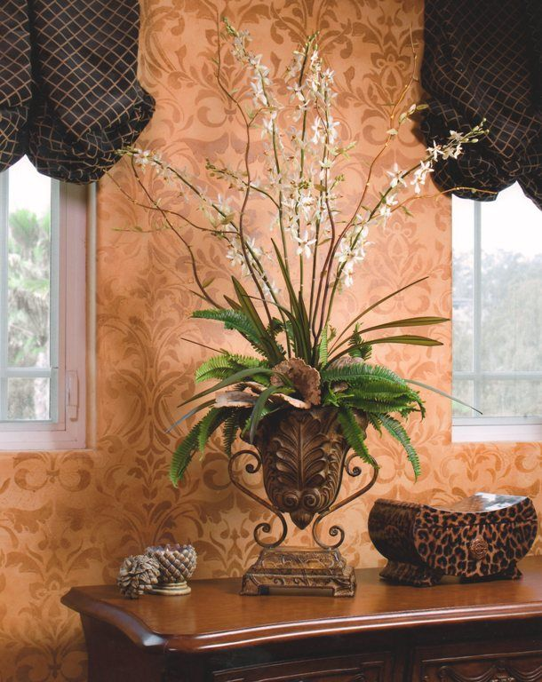 Tall artificial plants for home decor home decor ideas for Home decor kenner
