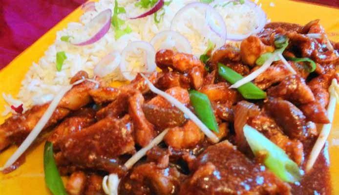 Surinaams eten – Chinese Hoi Sin Kip (speciale Surinaams-Chinese kip)
