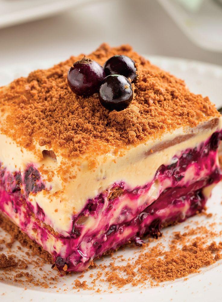 Ai încercat vreodată această prăjitură cu afine confiate?