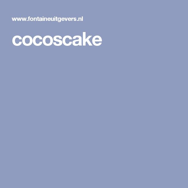 cocoscake