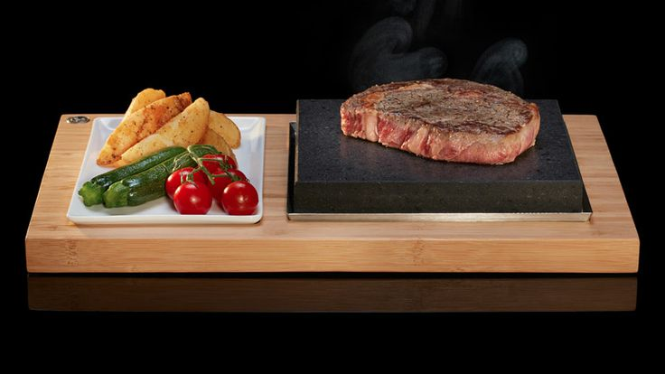 Giveaway: SteakStones Sizzling Steak Plate Set | DudeIWantThat.com