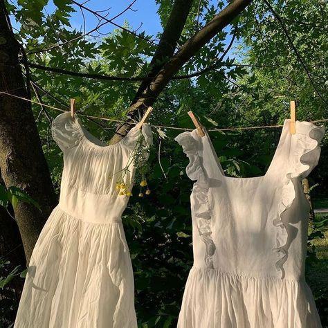 Soft Summer, Summer Evening, Ulzzang, Ideias Fashion, White Dress, Pretty, Clothes, Dresses, Women