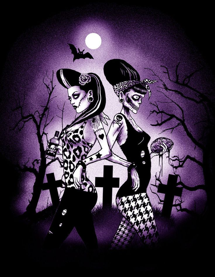 Zombie Psychobilly Chicks