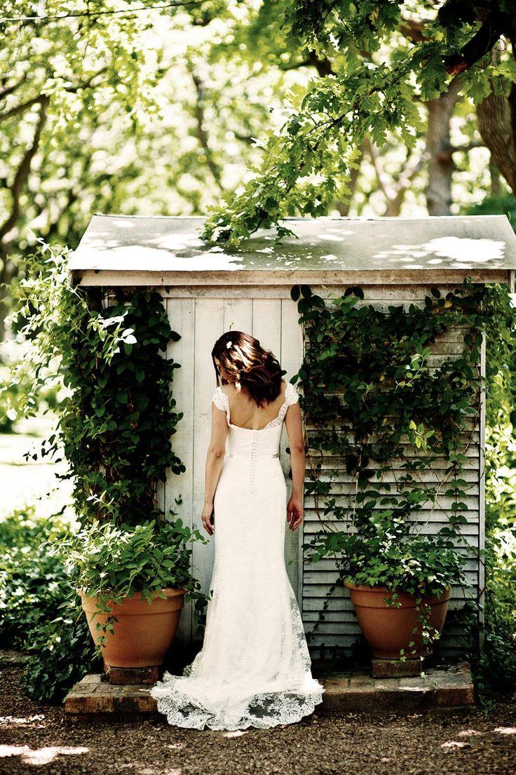 Südafrikanische Garten-Hochzeitsparty von dna photographers