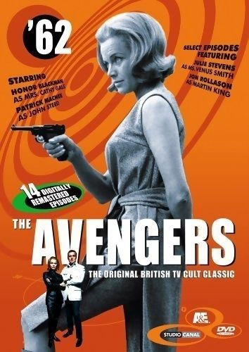 The Avengers is a spy-fi British television series created in the 1960s. The Avengers initially focused on Dr. David Keel (Ian Hendry) and his assistant John Steed (Patrick Macnee). Hendry left after the first series and Steed became the main character, partnered with a succession of assistants. Steed's most famous assistants were intelligent, stylish and assertive women: Cathy Gale (Honor Blackman), Emma Peel (Diana Rigg), and later Tara King (Linda Thorson).