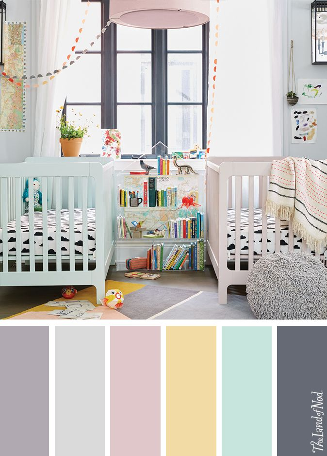 Searching for gender neutral nursery ideas? The Land of Nod has tons of inspiration for gender neutral nursery room design. We all know that any baby nursery should be filled with personal and stylish details. That's why we've got a mega lineup of baby furniture and bedding to match a variety of styles and nursery themes. Don't forget to top it all off with playful nursery decor, too.