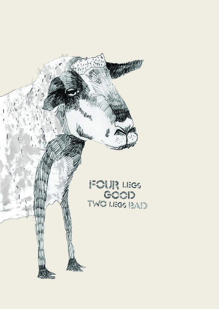 Animal Farm - Sheep - Final Image