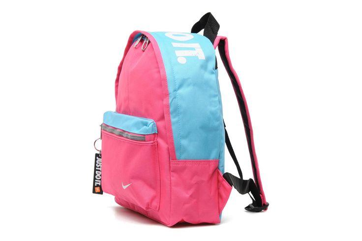 Rugtas felroze en babyblauw, een echte aandachtstrekker. Classic Backpack Nike (Roze) | Sarenza.nl | Rugzakken