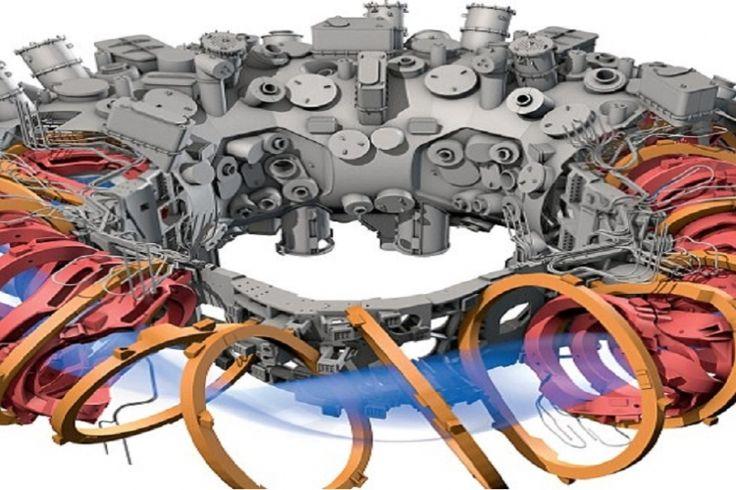 Le plus grand réacteur de fusion nucléaire maintenant en opération.