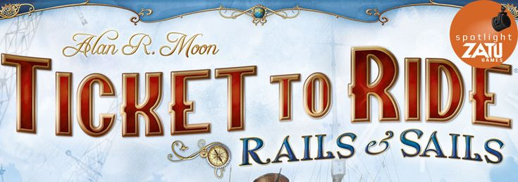 Today's Board Game Spotlight piece is a big one as we take a look at TTR Rails & Sails, which is the latest edition in the popular series.