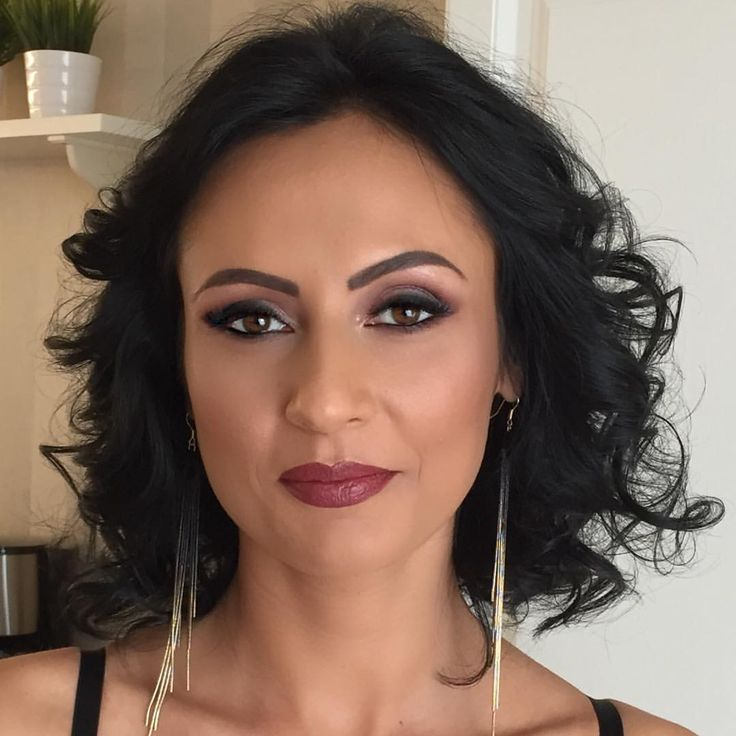 She looks radiant wearing my make-up #makeupartist #makeupaddict #makeupbyme #maccosmetics #urbandecay #anastasiabeverlyhills #makeupforever