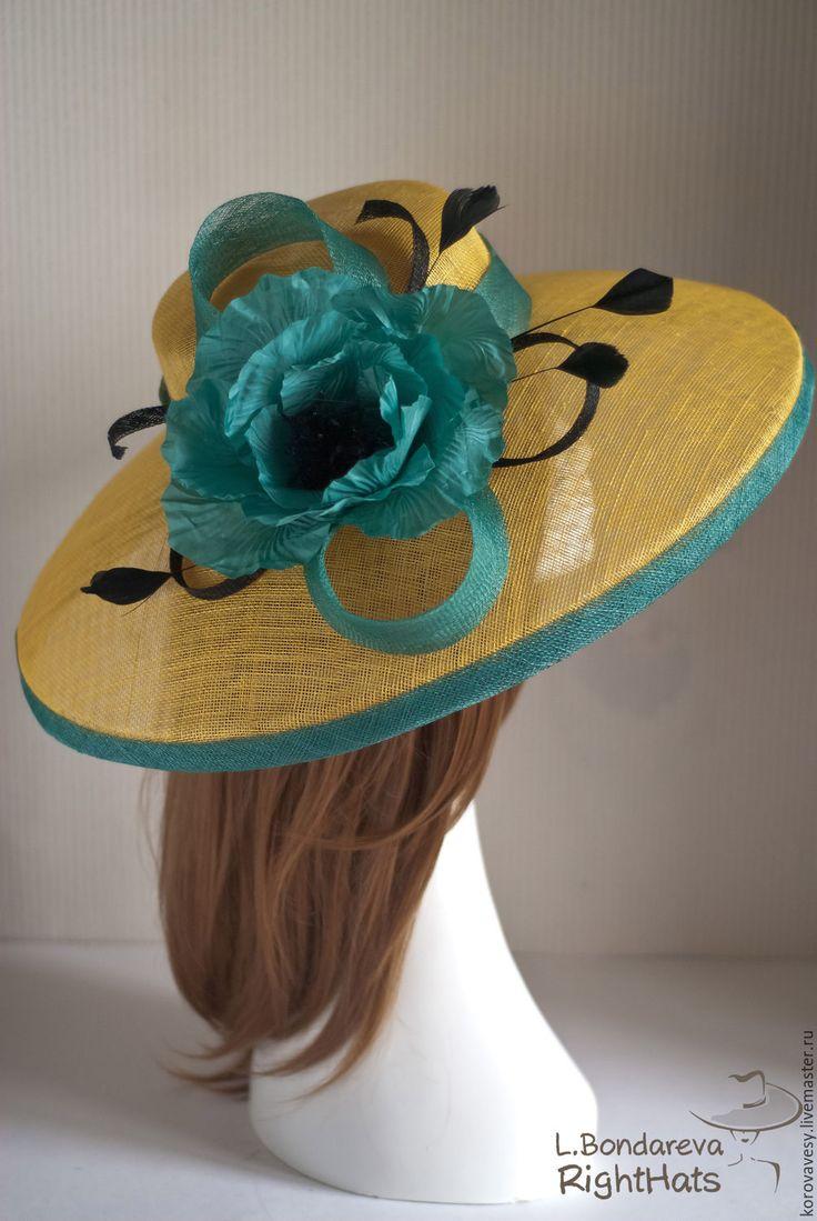 LIDIYA BONDAREVA YES! Не пора ли сказать - да! Весне, маю, скорому лету и своей красоте, наконец! Грациозная шляпа для изящных, смелых, грациозных и божественных! #righthats #правильныешляпки #летняяшляпа #леди #шляпкисовкусом #fashion #iadystyle