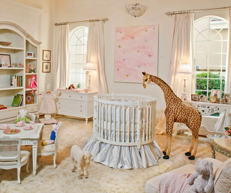 nursery | nicely outfitted, traditional nursery from Art for Kids.