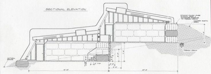 Tire Bale Construction   House Plans   Pinterest   Construction