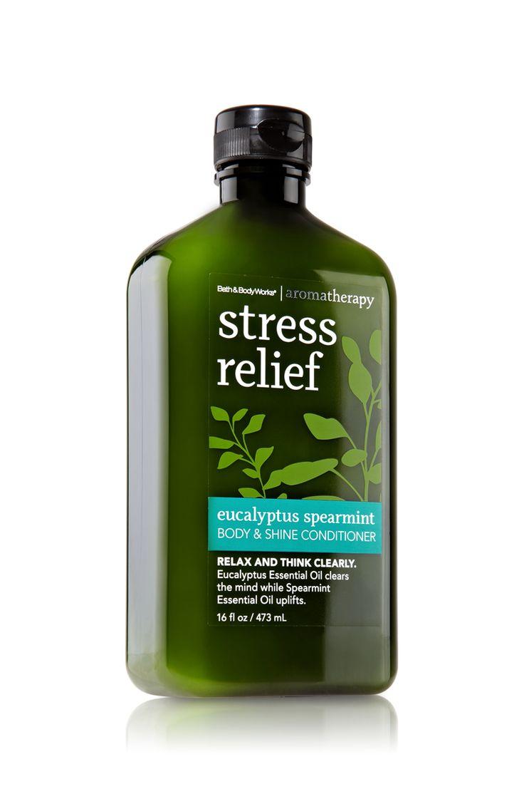 Stress Relief - Eucalyptus Spearmint Body & Shine Conditioner - Aromatherapy - Bath & Body Works  $10.00