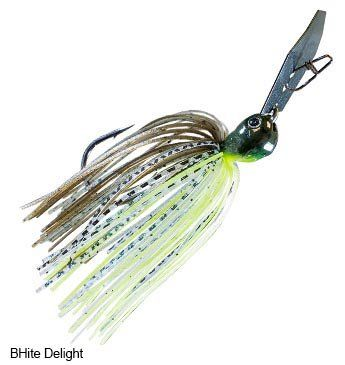 Evergreen Jack Hammer Zman Chatterbait  https://fishingrodsreelsandgear.com/product/evergreen-jack-hammer-zman-chatterbait/  Designed by Brett Hite and Morizo Starts Running Quickly Natural Hunting Motion