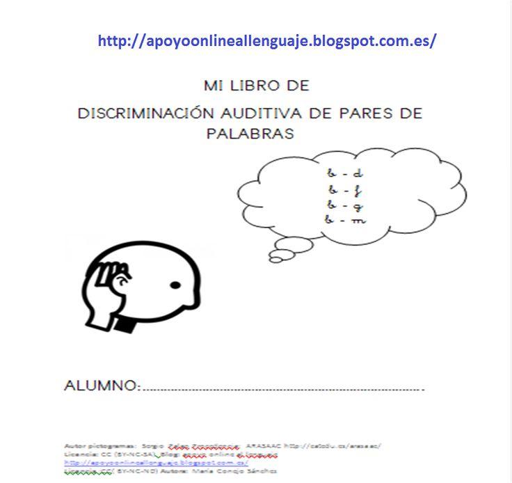 Apoyo online al lenguaje: DISCRIMINACIÓN FONÉTICA DE PARES DE PALABRAS