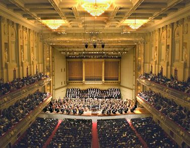Boston Symphony Orchestra - so excited for the new season to start and attend concerts.