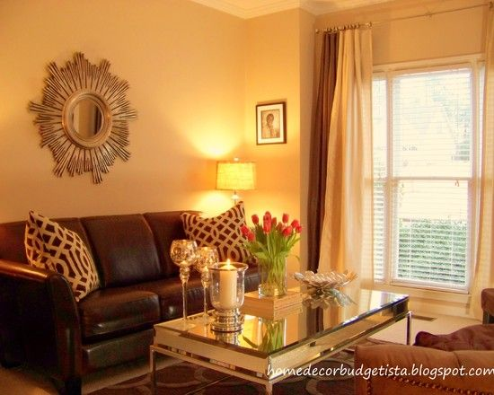 Living Room Brown +leather +sofa Design, Pictures, Remodel, Decor and Ideas - page 2