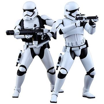 Figura Fist Order Stormtroopers Set Sixth Scale Star Wars Episodio VII
